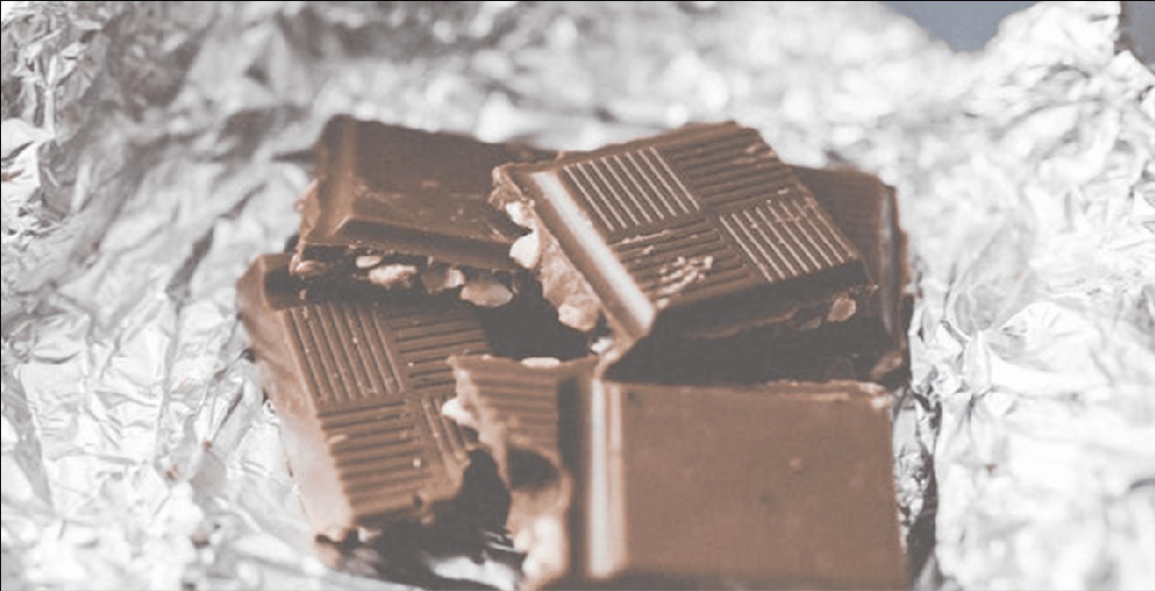 Tip #2: Deel je chocolade