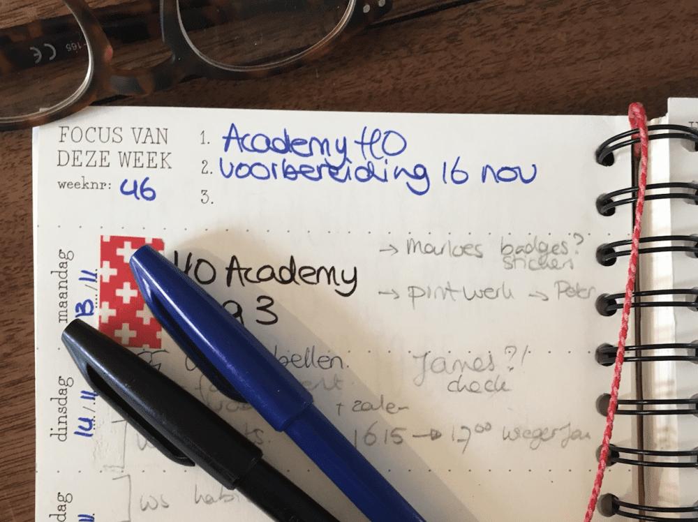 happiness planner voor focus