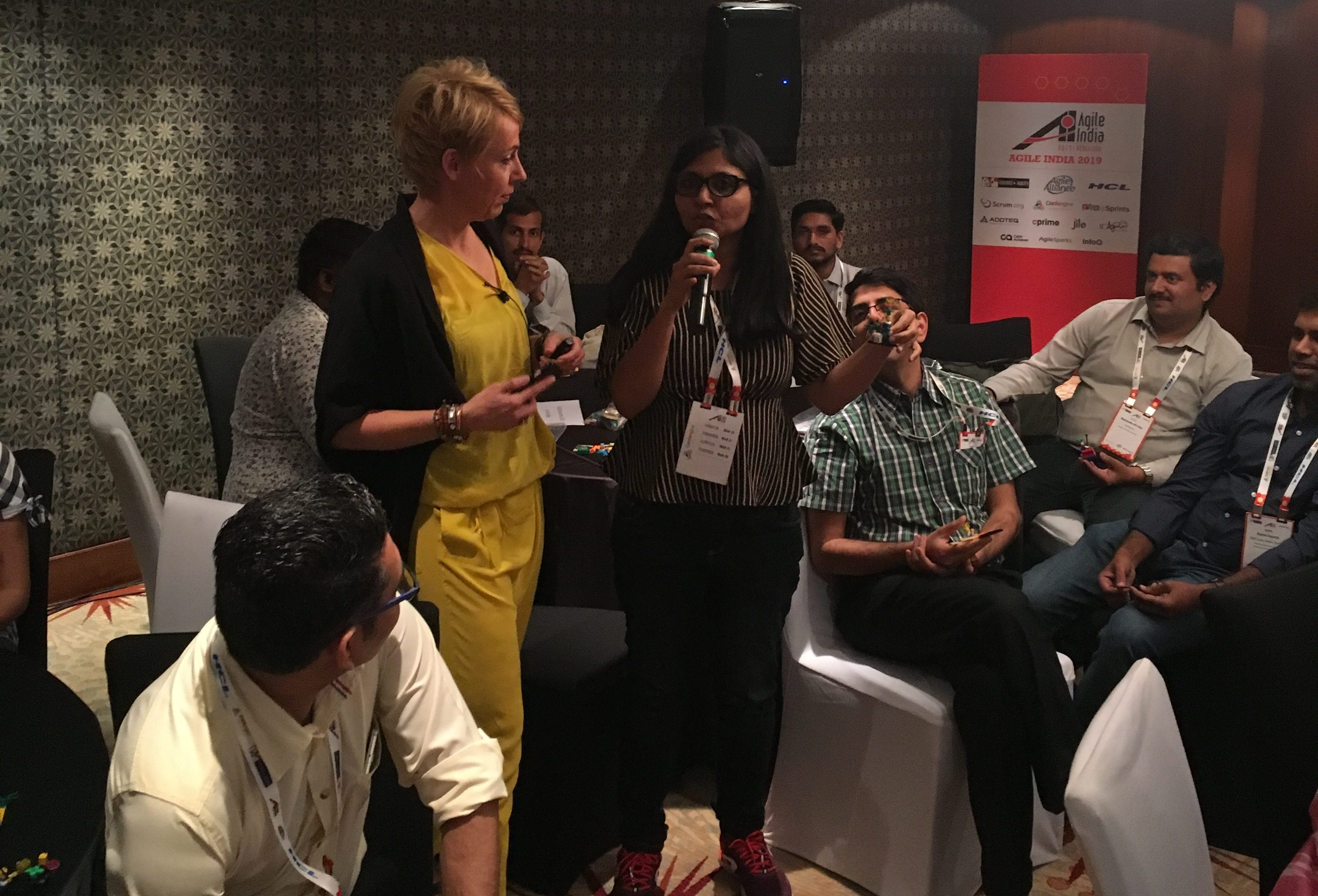 Happiness at Work at the Agile India Conference
