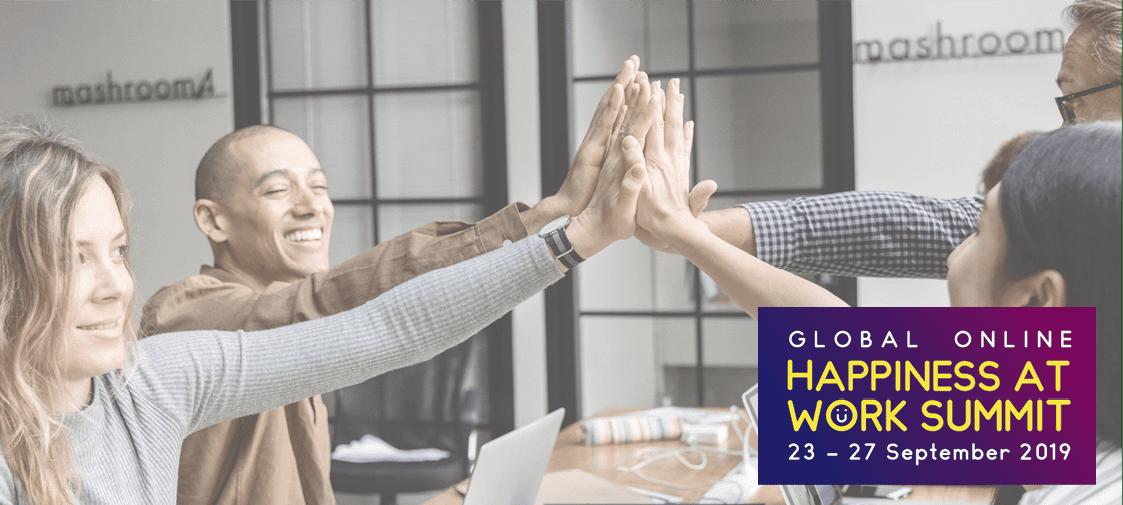 Happy Office op de Global Online Happiness at Work Summit