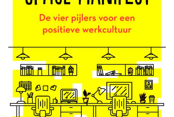 Cover ons boek Happy Office Manifest